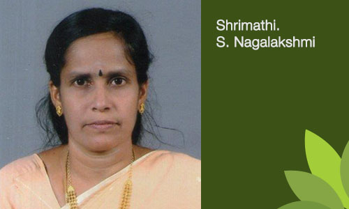 Shrimathi. S. Nagalakshmi - Settler / Founder of the Trust