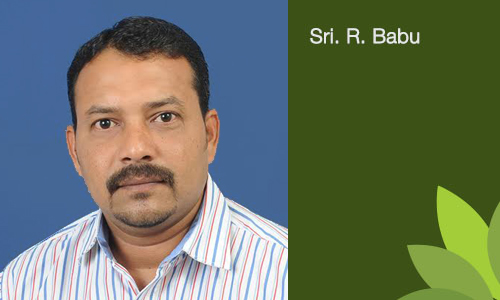 Sri. R. Babu - Secretary of the Trust
