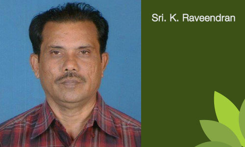 Sri. K. Raveendran - Chairman & Managing Trustee