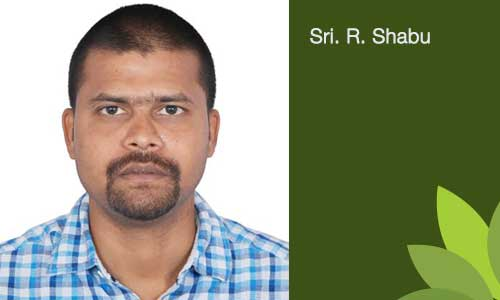 Sri. R. Shabu - Treasurer of the Trust